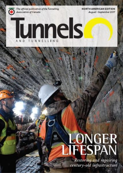 Capture tunnels north america cover august 2017