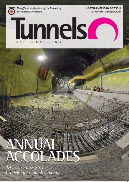 tunnels and tunnelling north america dec 2017 cover
