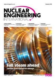 nuclear engineering international cover jan 2018