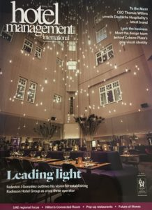 Cover Hotel Management 2018