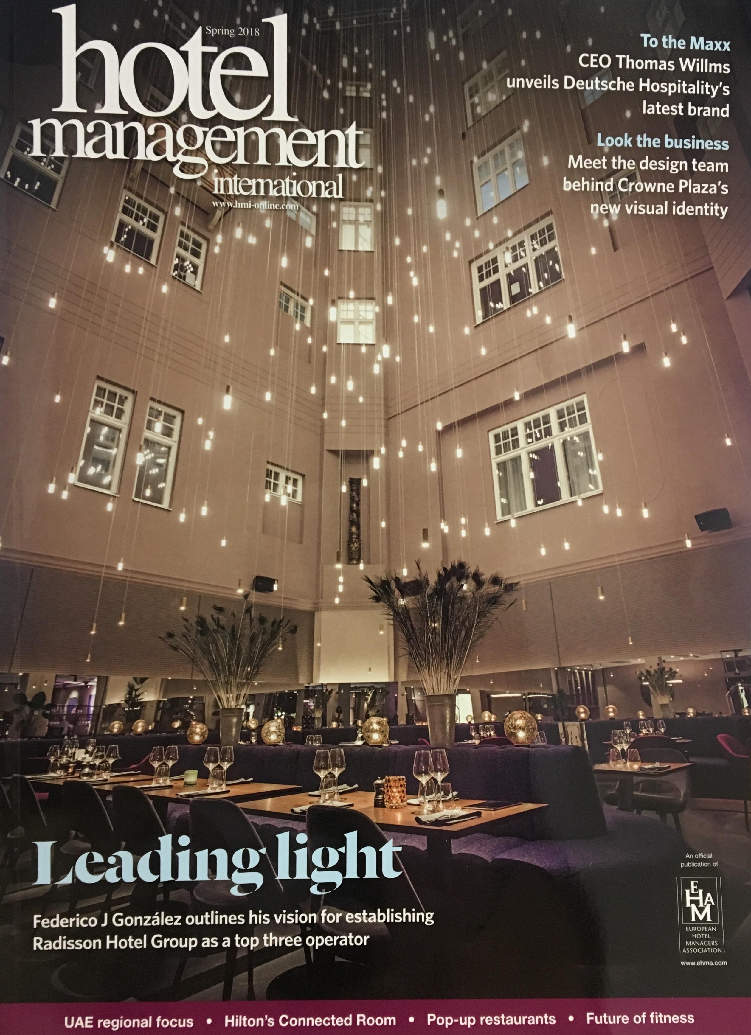 Hotel Management International 24 Print Month Subscription