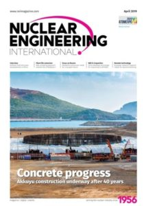 Nuclear Eng International April cover