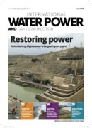 Water Power and Dam Contrsution July cover