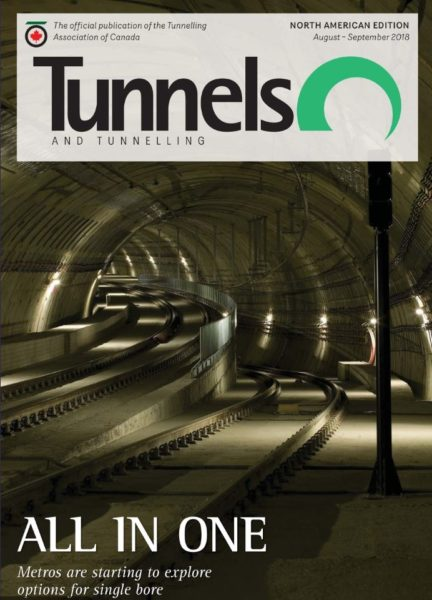 Capture tunnels and Tunneling North Amercia sep oct 2018