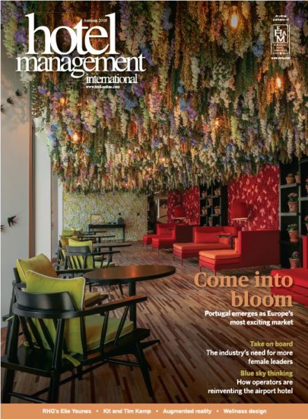 Capture Hotel Management winter 2018 cover