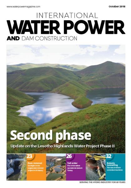 Capture Int Water Power oct 2018 cover