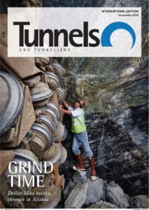 Capture Tunnels & Tunneling nov 2018 cover