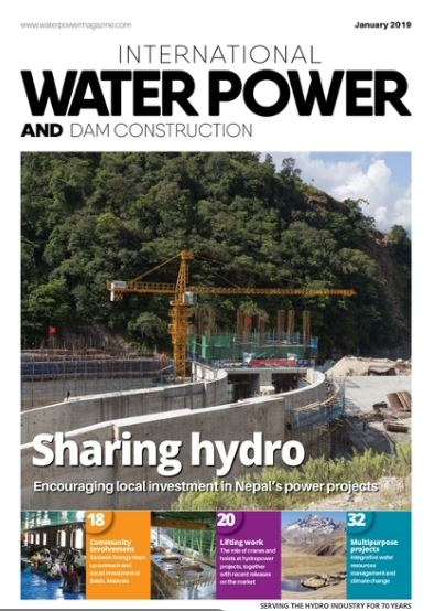Water Power cover jan 19